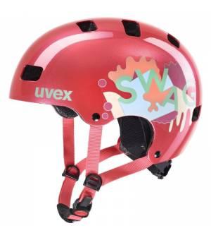 Uvex C Kid 3 Coral 55-58 cm cyklistická prilba 2020