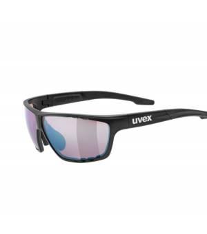 Uvex Sportstyle 706 CV black mat/amber slnečné okuliare