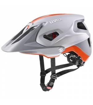 Uvex C Quatro Integrale Silver Orange Mat cyklistická prilba 52-57 cm