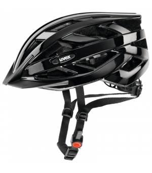 Uvex I-VO Black Cyklistická Prilba Čierna