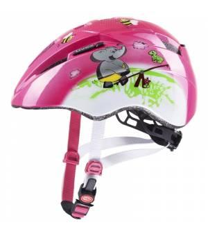 Uvex C Kid 2 Pink Playground 46-52 cm detská cyklistická prilba