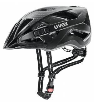 Uvex City Active Black Mat 56-60 cm cyklistická prilba 2021