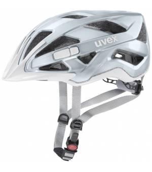 Uvex Active Light Blue/Silver detská cyklistická prilba