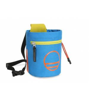 Wild Country Flow Chalk Bag detroit blue/citronelle vrecko